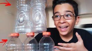 FIZ O IMPOSSÍVEL NO DESAFIO DA GARRAFA 2 !!! (Water Bottle Flip Challenge)