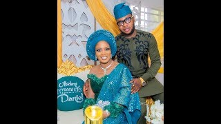 At Last See Bidemi Kosoko And Her Handsome Husband At Their wedding introduction