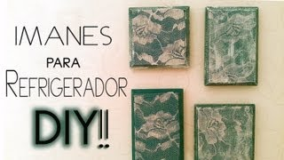 DIY: imanes para refrigerador / Fridge Magnets♥ Thumbnail