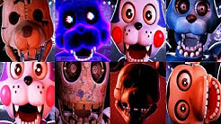 Five Nights at Candy's Remastered ALL JUMPSCARES (FNAC)