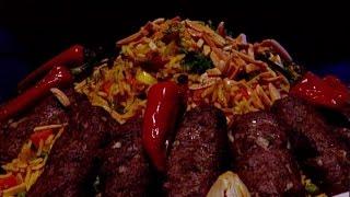 ديما حجاوي تحضر كباب الشبت وأرز الخضار بالشبت