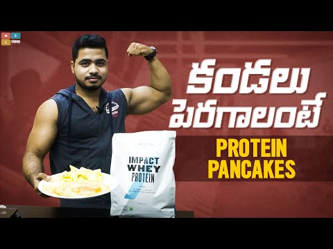 muscle-building-protein-pancakes-recipe-with-krish-in-telugu-using-myprotein-impact-whey