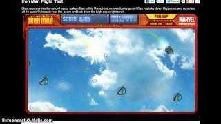 The Invincible Iron Man: Flight Test (Marvel Games Part 2)