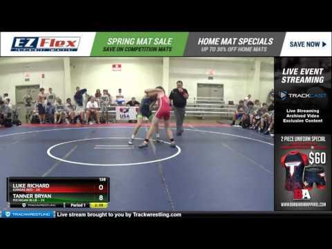 138 Luke Richard Kansas Red vs Tanner Bryan Michigan Blue 8383897104