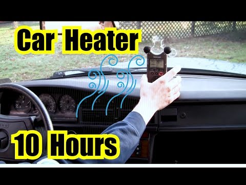 """MERCEDES CAR HEATER BLOWER FAN NOISE 10 HOURS of WHITE NOISE Sound Effect 
