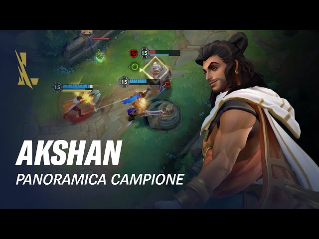 Panoramica campione Akshan | Gameplay - League of Legends: Wild Rift