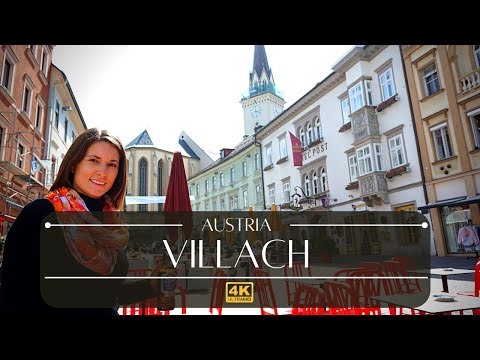Villach Austria 4k