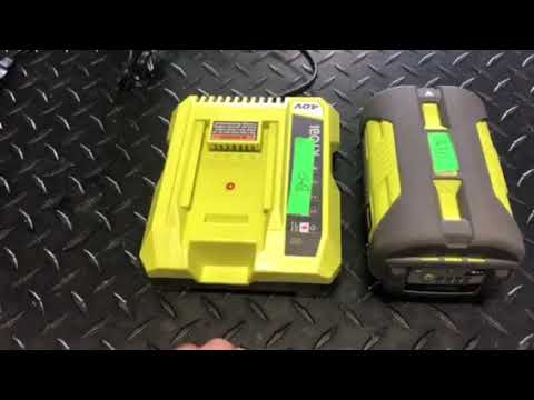 Ryobi 40v Battery Charging Problem    Fix - Direct Warranty Replacement Department