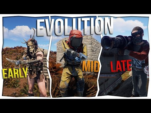 RUST - THE EVOLUTION OF A RUST PLAYER thumbnail