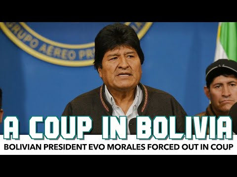 Bolivian President Evo Morales Forced Out In Coup