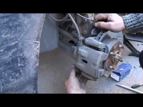 видео: lifan solano, меняем тормозные колодки