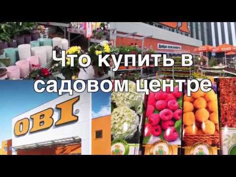 Что купить в садовом центре | товары для дачи и сада | Сургут магазин OBI