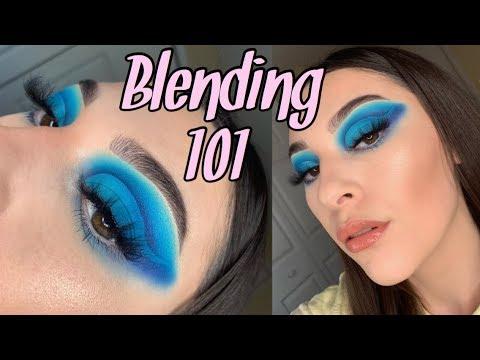 Blending 101 | How to blend eyeshadow | Morphe & Bh Cosmetics