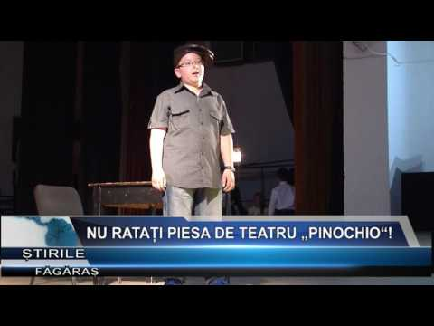 """Nu ratati piesa de teatru """"Pinochio""""!"""