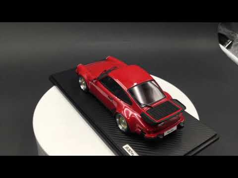 Ignition Model 1:18 Porsche 911 (930) Turbo with BBS Wheels Resin car model (Red)