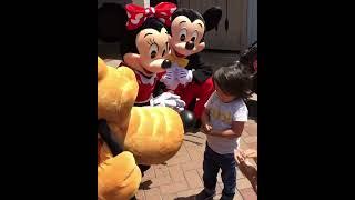 【涙】耳が聞こえない少年に、心優しいミニーがとった行動