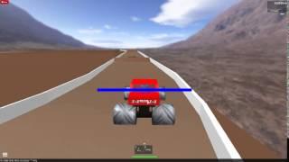 Roblox Monster Truck Race
