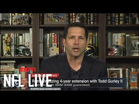 Adam Schefter breaks down Todd Gurley's 4-year, $60M extension with Rams | NFL Live | ESPN