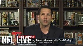 Adam Schefter breaks down Todd Gurley's 4-year, $60M extension with Rams | NFL Live | ESPN