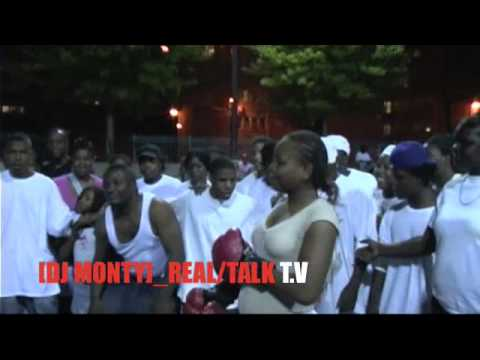 (DJ MONTY REAL/TALK T.V) FIGHT NIGHT IN THE ICKES