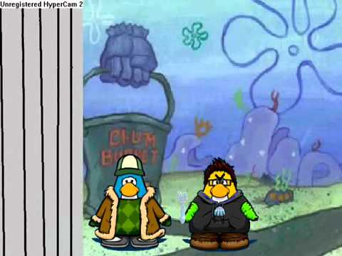 club penguin meets spongebob part 4 youtube