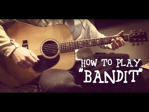 how to play bandit by neil young acoustic guitar tutorial on a cg winner w 777 d45 guitar. Black Bedroom Furniture Sets. Home Design Ideas