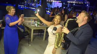 #DESPACITO Wedding saxophonist at Pearl Beach Club, Punta Cana