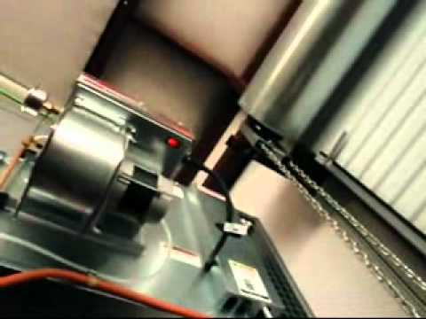 Lanair shop heater operation overview - YouTube