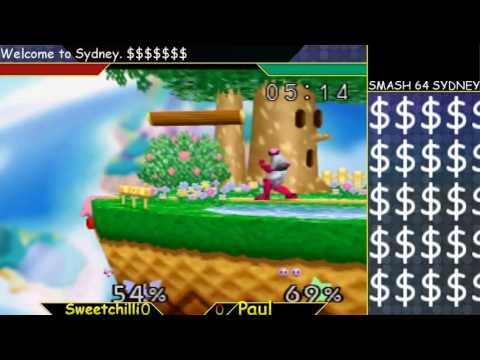 Great Cave Offensive: Sweetchilli (Falcon, Pikachu) vs Paul (Kirby)