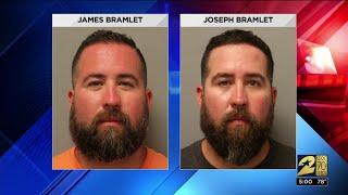 Deputies injured at crash scene; twin brothers faec DWI charges