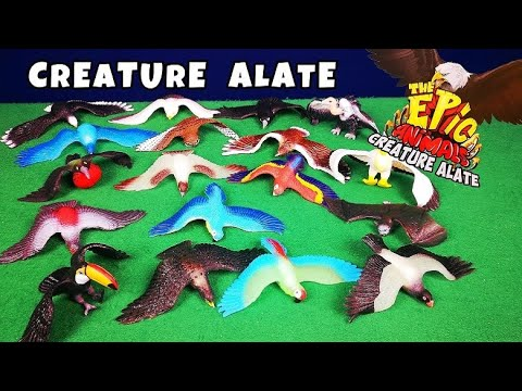THE EPIC ANIMALS CREATURE ALATE - Leo Toys