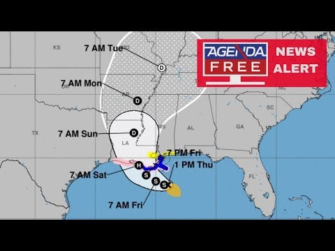Possible Hurricane Barry Approaching Louisiana - LIVE COVERAGE