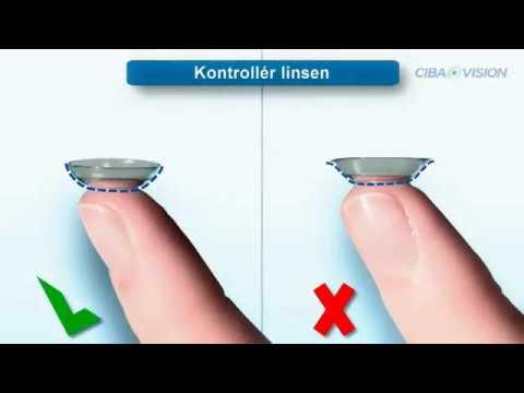 6bb43665e5bf Hvordan sætter man kontaktlinser i øjet  - YouTube