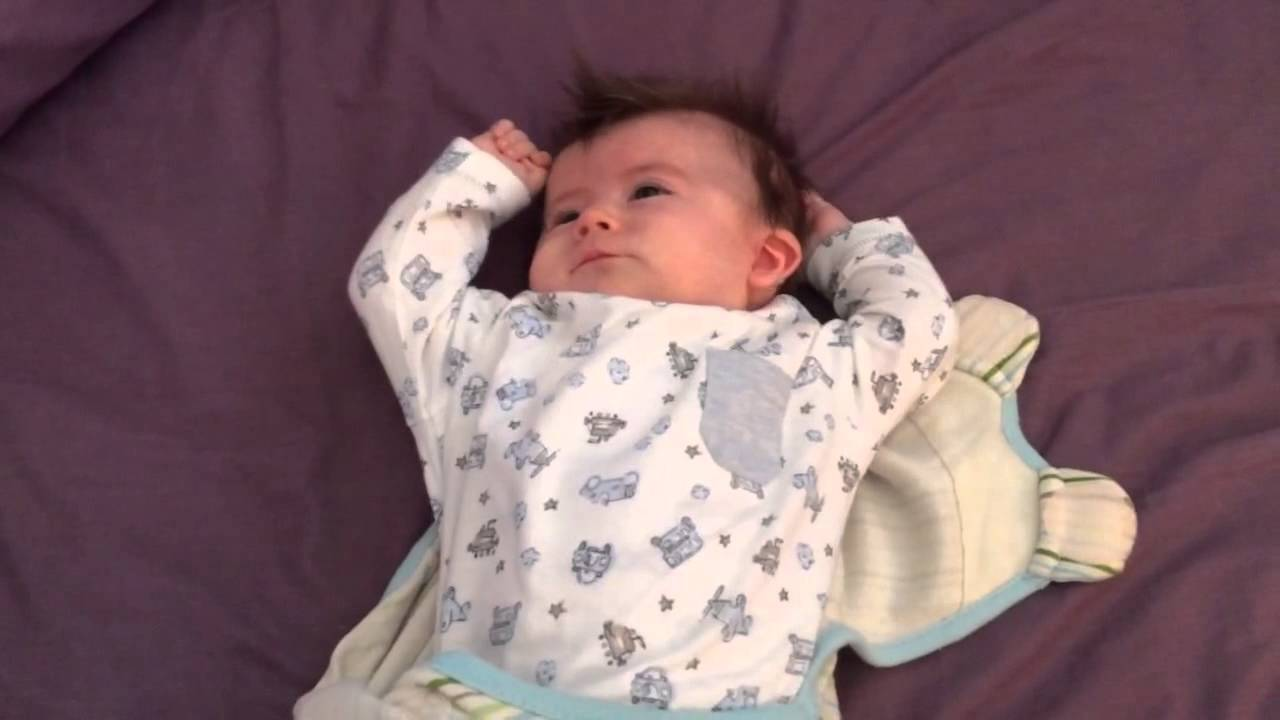 Cute Baby Stretching After Sleep Youtube