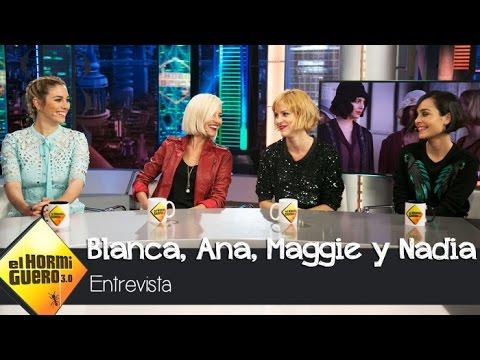 Blanca Suárez, Maggie Civantos, Nadia de Santiago y Ana Fernández visitan El Hormiguero 3.0