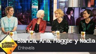 Blanca Suárez, Maggie Civantos, Nadia de Santiago y Ana Fernández visitan El Hormiguero 3.0 YouTube Videos