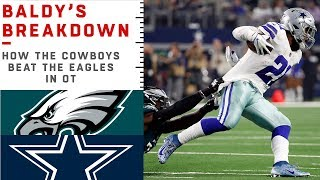 How the Cowboys Beat the Eagles in OT | NFL Film Review Video