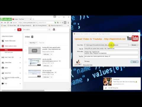 [C#] Tutorial Auto upload video Youtube - using api v3