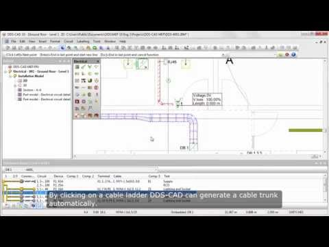 DDS-CAD Electrical: Optimize electrical installations with intelligent cabling