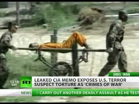 Leaked CIA Memo: Bush knew US torture was 'war crime'
