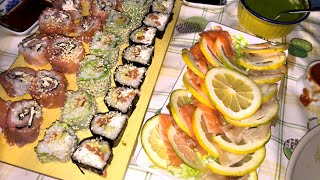 Serata SUSHI: CI SFONDIAMO di SUSHI!!! | Carlitadolce Cucina - Sushi At Home
