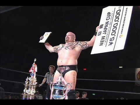 NJPW GREATEST MOMENTS NEW JAPAN CUP SPECIAL 2006.04.30 GIANT BERNARD vs NAGATA