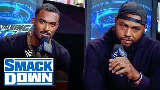Street Profits are ready to throw hands against Otis & Chad Gable: WWE Talking Smack, June 5, 2021