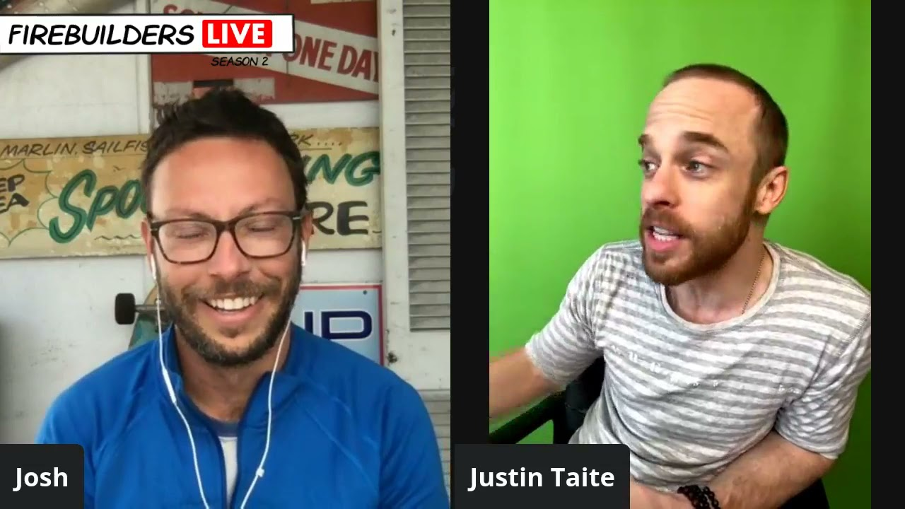 Justin Taite on How To Persist Towards Your Dreams And Put In The Work Despite Rejection - FBL #182