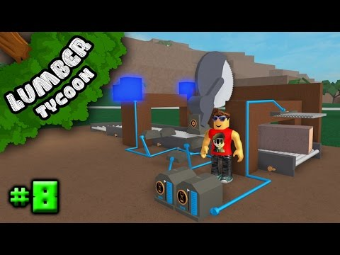 Lumber Tycoon 2 Ep. 8: Automatic Chop Saw? | Roblox