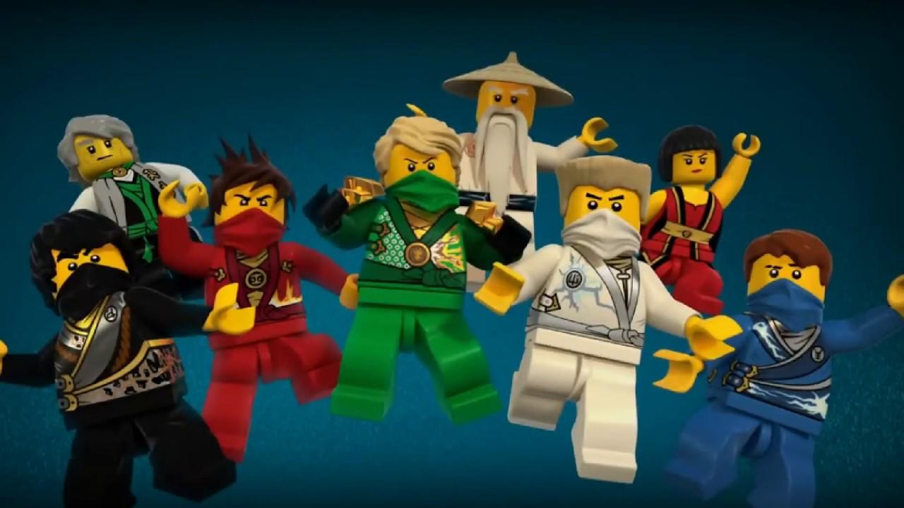 Картинки всех героев лего ниндзяго