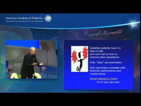 Keynote Address: Learning from Disney® - Going from Good to Great in Patient Perceptions