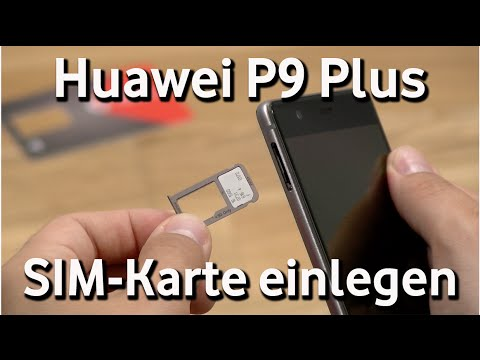 huawei p9 plus vodafone sim karte einlegen youtube. Black Bedroom Furniture Sets. Home Design Ideas
