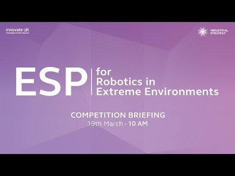 ESP for Robotics in Extreme Environments