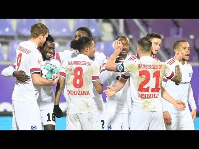 Elvis - Spielbericht | Aue 3:3 HSV / Saison 20/21 | #008